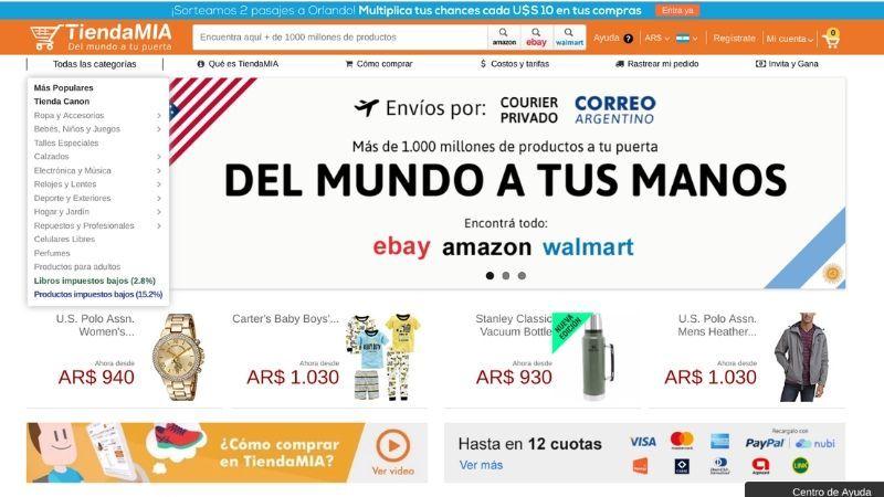 tienda mía compras online